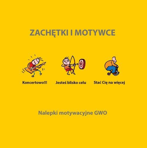 Zachetki I Motywce 192 Naklejki Gwo Gdanskie Wydawnictwo Oswiatowe