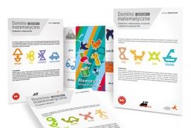 Okładka Domino i memory dla klas 1–3