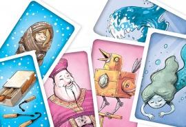 Okładka Karciane gry lekturowe Lokomotywy