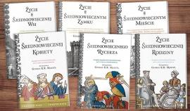 Okładka Majowa promocja na książki o życiu w średniowieczu