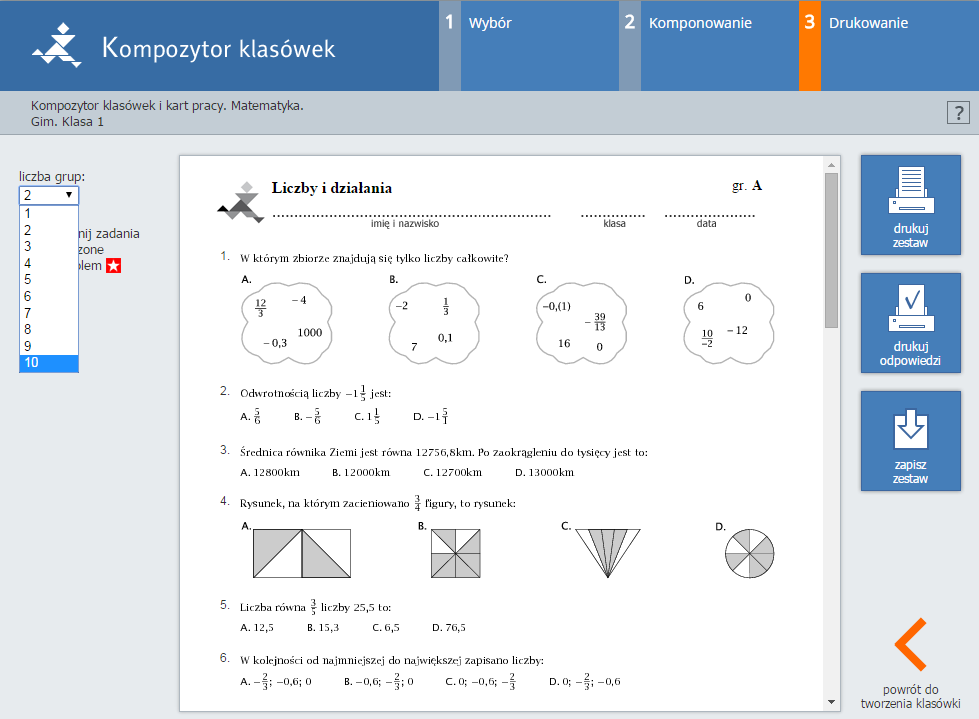 matematyka z plusem 1 gimnazjum pdf chomikuj