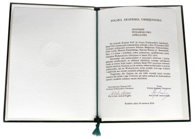 Dyplom PAU