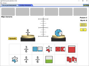 Porównywanie ułamków – Ułamki zwykłe i liczby mieszane