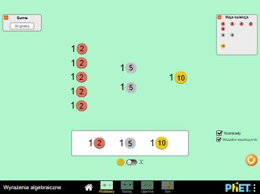 Wyrażenia algebraiczne – Wyrażenia algebraiczne i upraszczanie wyrażeń