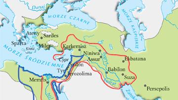 Granice wybranych imperiów starożytnego Bliskiego Wschodu