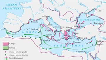 Świat śródziemnomorski w starożytności.