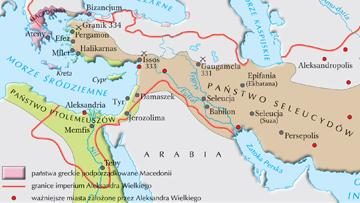 Monarchie diadochów w III w. p.n.e.