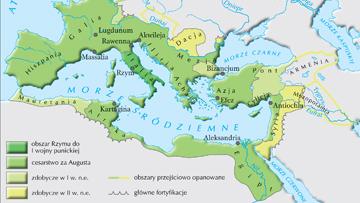 Podboje rzymskie do końca II w. n.e.