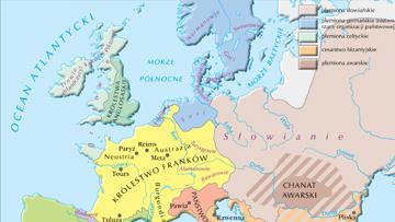 Europa w poł. VII w.