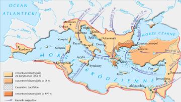 Cesarstwo bizantyjskie w VI-XV w.