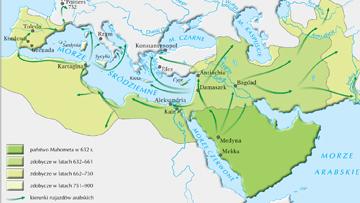 Ekspancja Arabów w VII-IX w.
