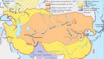Podboje mongolskie w XIII w.