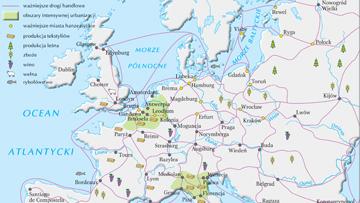 Gospodarka Europy pod koniec XIV w.