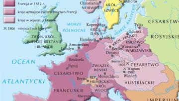 Europa napoleońska w 1812 r.