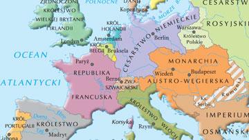 Europa w 1871 r.