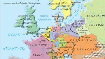 Europa po kongresie wiedeńskim 1815 r.