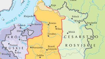 I i II rozbiór Polski.