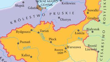 Księstwo Warszawskie.