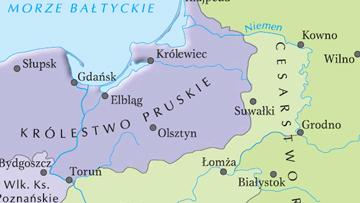 Ziemie polskie w 1815 r., po kongresie wiedeńskim.