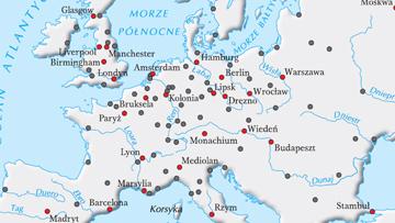 Największe miasta europejskie na pocz. XX w.