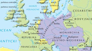 Europa w okresie I wojny światowej.