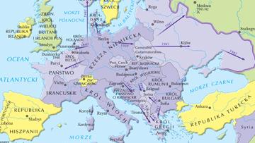 Najdalszy zasięg ekspansji państw osi w Europie w 1942 r.