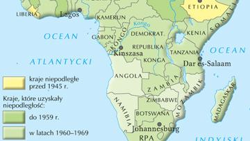 Dekolonizaja Afryki.