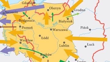 Zmiany terytorialne Polski po 1945 r.
