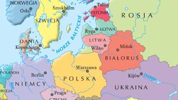 Europa Środkowa i Wschodnia w 2004 r.